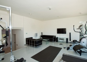 Fitness  roiom and gym of villa for sale at Marbella