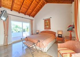 Master bedroom at La Quinta Marbella Spain