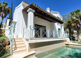 Frontline golf villa for sale at La Cala Golf Mijas Marbella