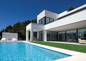 Modern new Design villa for sale at Casasola Guadalmina Marbella