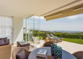 Garden apartment for sale at La Mairena Marbella