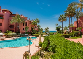 Beachside apartment for sale at New Golden Mile Estepona Merana Beach