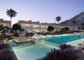 New villas for sale at Golden Mile Marbella