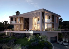 Modern villa for sale at Los Arqueros Golf