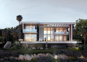 Newly built design villa for sale at Los Arqueros Golf