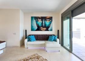 apartment, bel etage, golf view, Los Flmaingos Golf, tee 5 Los Flamingos, Marbella, Costa del Sol, Spain.
