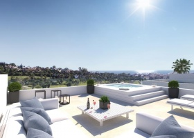 new, modern, villa, for sale,  New Golden Mile of Estepona, Marbella, Costa del Sol, Spain