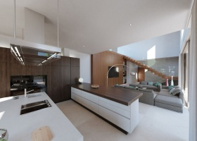 new, modern, design, contemporary, villa, for sale, El Herrojo Alto, La Quinta, Benahavis, Marbella, Costa del Sol, Spain.