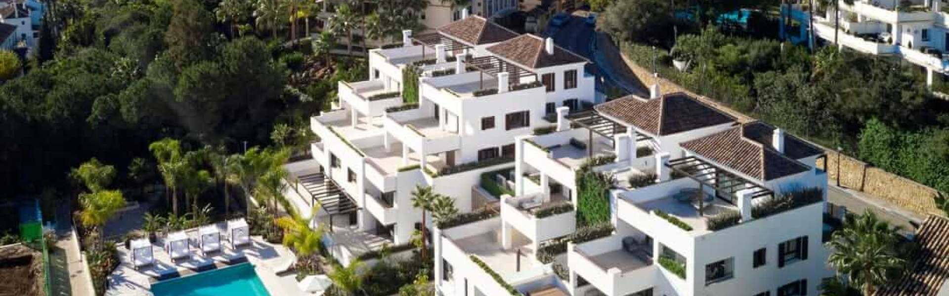 Penthouse for sale at Lomas del Rey Marbella